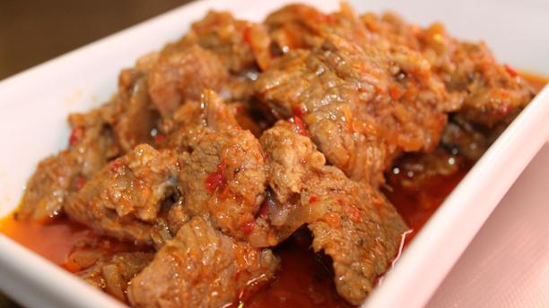 Kediri Indonesische Afhaal en Catering Daging Bali van runderpoulet