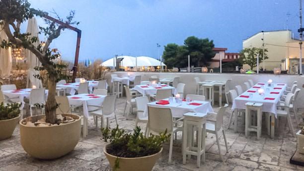 Terrazza Paradise Notte in terrace