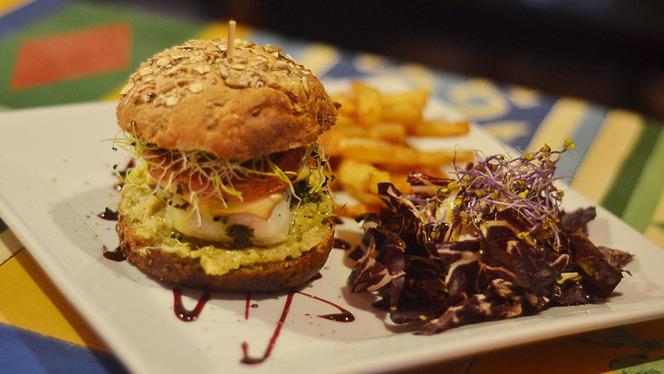 Burger - Casa No Name, Marseille