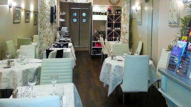 Restaurant Le Breca vue d'ensemble de la salle