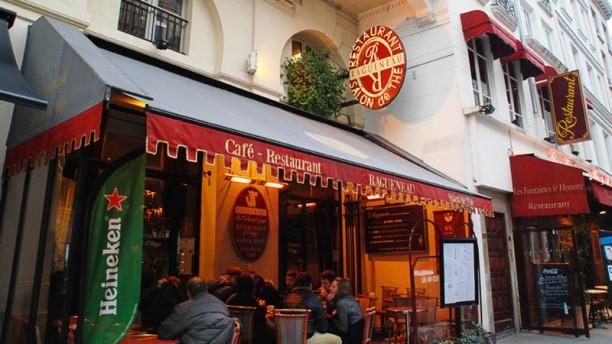 Ragueneau Bienvenue au restaurant Ragueneau
