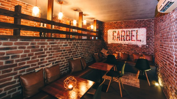 Garbel Sala del restaurante
