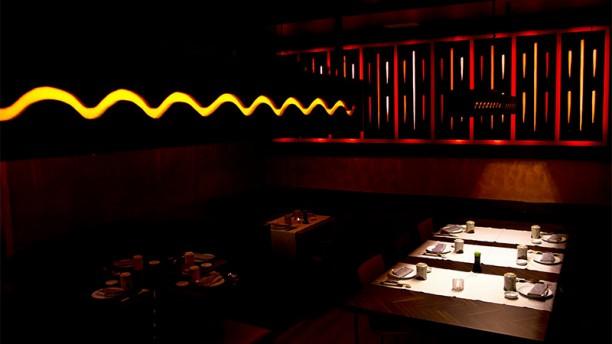 Mizu Sushi Vista della sala