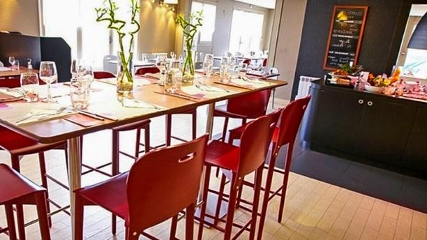 Campanile Châlons-en-Champagne Salle du restaurant