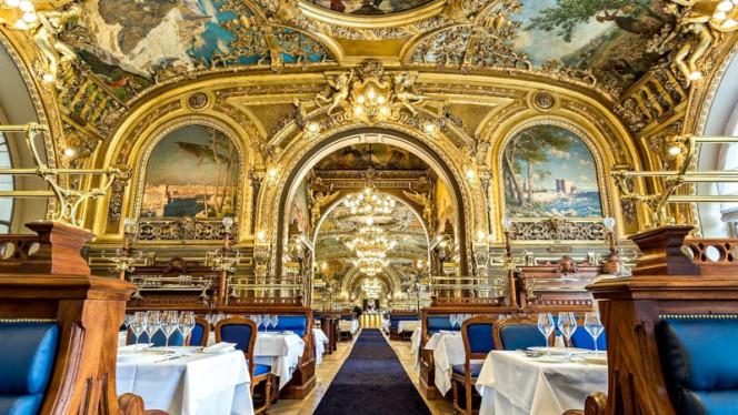Vue de la salle - Le Train Bleu, Paris