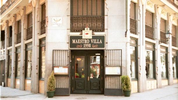 Maestro Villa Vista de la fachada