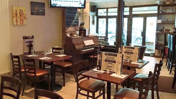Beyrouth Salle du restaurant