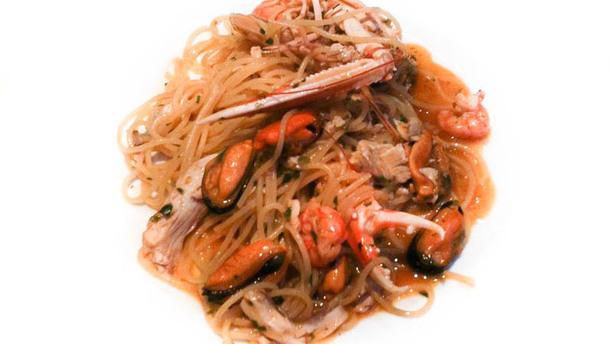 Al Duomo Spaghetti scampi e frutti di mare