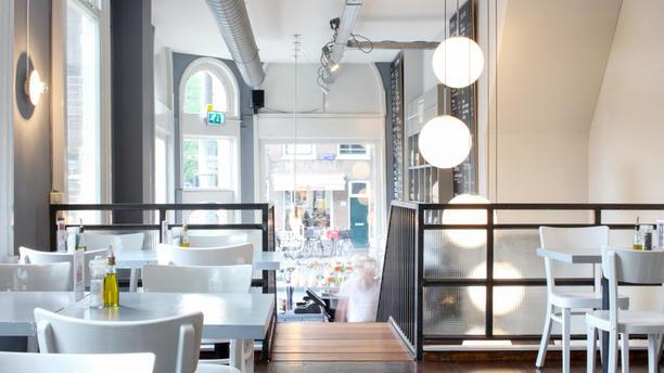 De Pizzabakkers Amsterdam (Plantage Kerklaan) Het restaurant