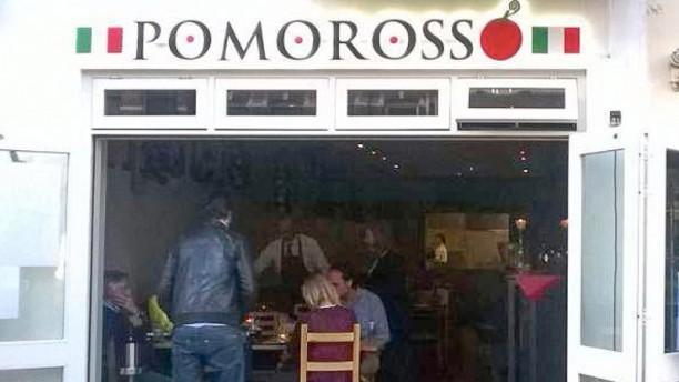 Pomorosso Ingang