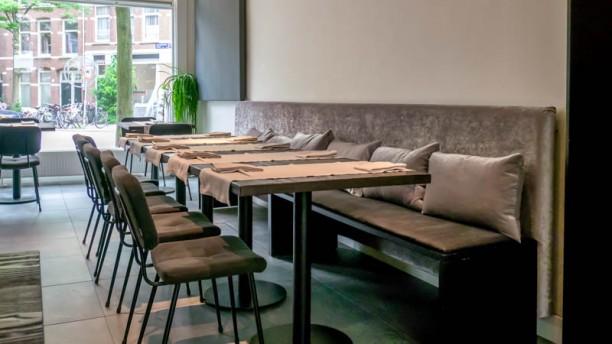 En Japanese kitchen & sake bar Het restaurant
