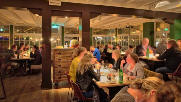 Cosa cucina & winebar Het restaurant