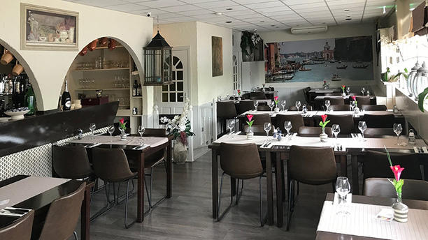 La Piazza Het restaurant