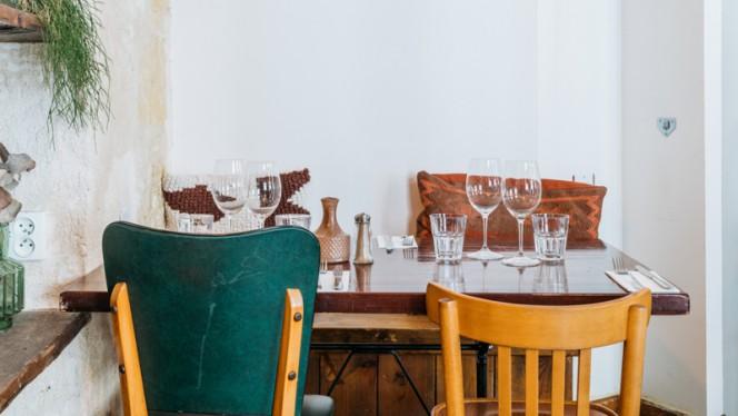 Tables dressées - Le Troquet, Bordeaux