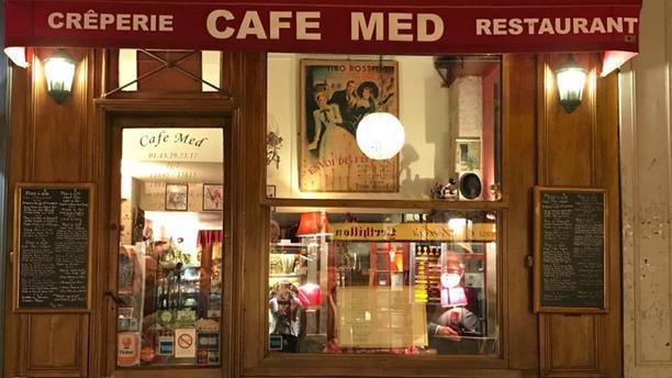 Café Med Façade