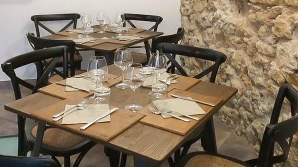 Loggia66 Particolare tavolo