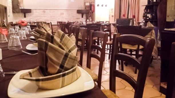 King stone ristorante sala