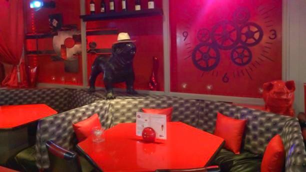 Le Red Kafé Vue de la salle