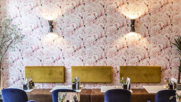 Hey Days Flamingo wall