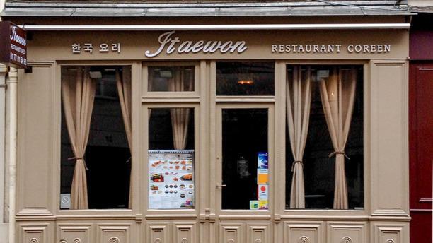 Itaewon Façade du restaurant