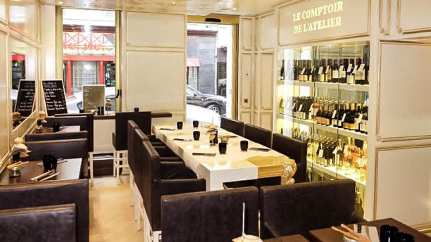 Le comptoir de l 39 atelier in paris restaurant reviews - Le comptoir paris restaurant ...