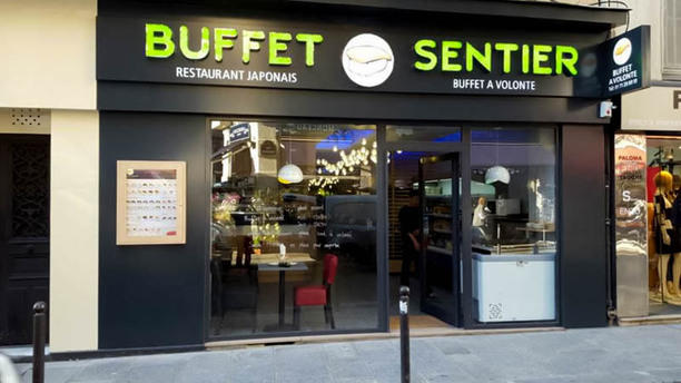 Buffet Sentier Devanture