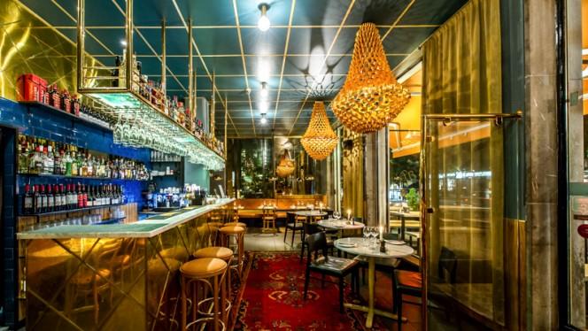 Dining room and bar - El Cielo, Stockholm