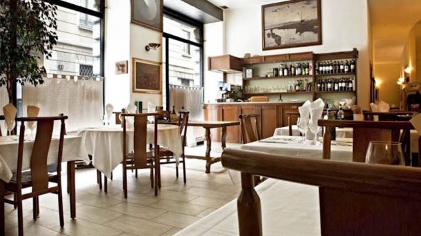 Antica Osteria Milanese sala