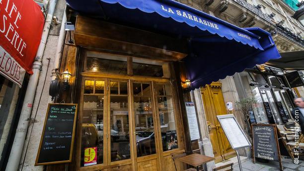 La Sarrasine Bienvenue au restaurant La Sarrasine