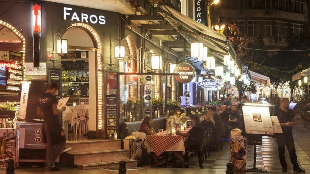Faros Restaurant Old City Entrance