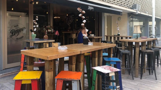 Bayou Bar Terrasse