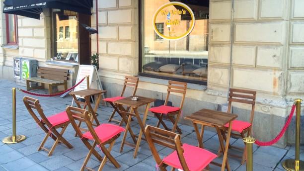 The Leilas Café terrace