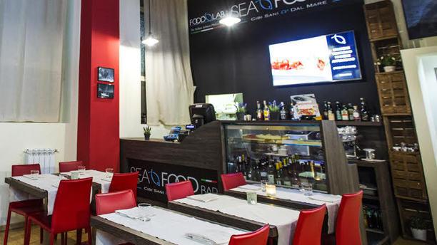 Seafood Bar Garibaldi La sala