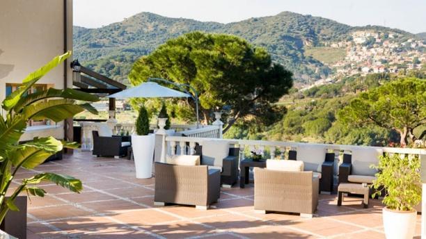 Les Terrasses - Hotel Porta d'Alella Vista terraza