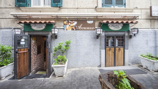 Pizzeria Acunzo Patrizio Vomero Entrata