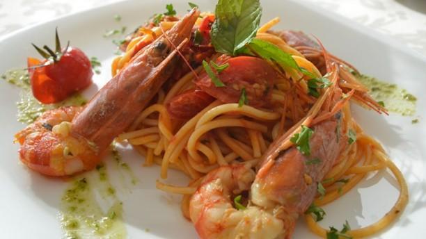 Palm beach hotel Spaghetti con Gamberoni e Pomodorini