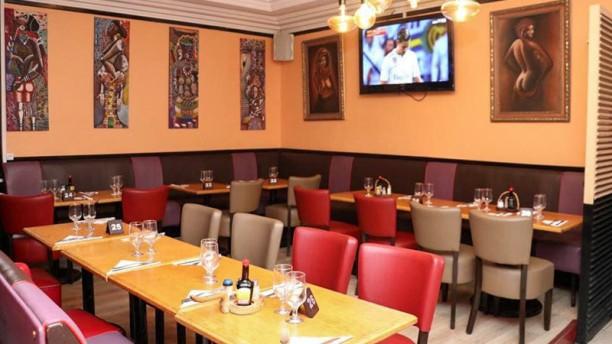 Mama Africa Salle du restaurant