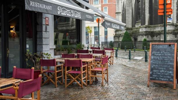 Puerta Nueva Restaurant Vue terrasse