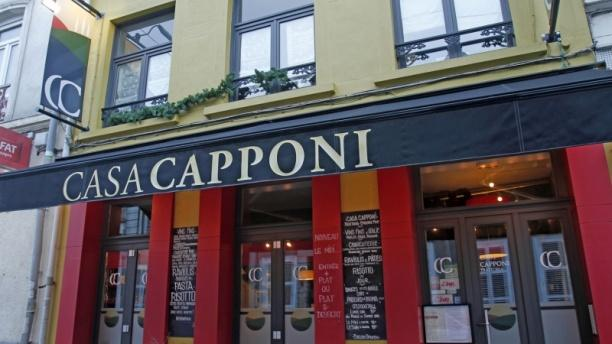 Casa Capponi Bienvenue au restaurant Casa Capponi