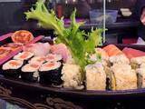 It's sushi robata
