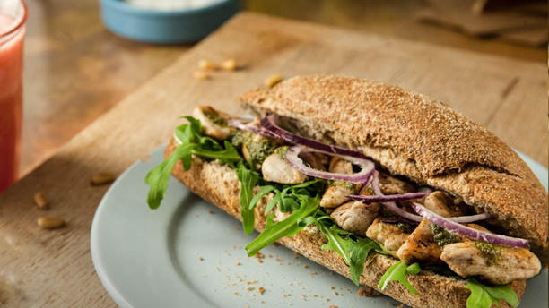 Grillig Sandwiches Suggestie van de chef
