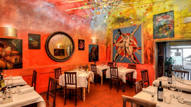 Risultati immagini per garga restaurant florence via s. zanobi 33