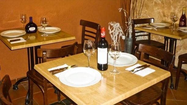 Pizza Che Detalle mesa