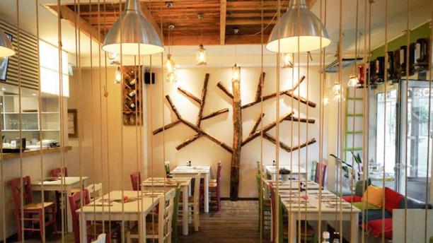 Gyrosland Het restaurant