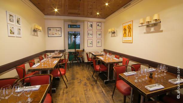 Restaurant Lassiette Paris