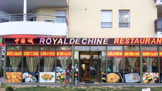 Le Royal de Chine Devanture