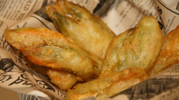 La Burrata Gastrobar Fiori di zucca