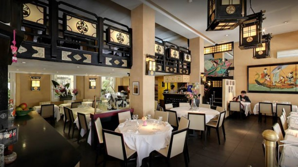 Le Jardin de Bambou Vue de la salle