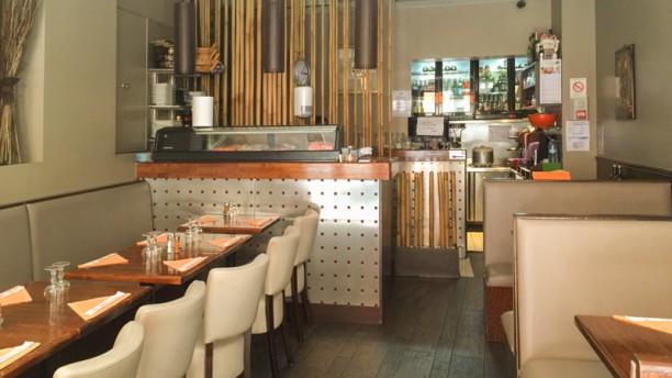 Sushi Mogador Salle du restaurant