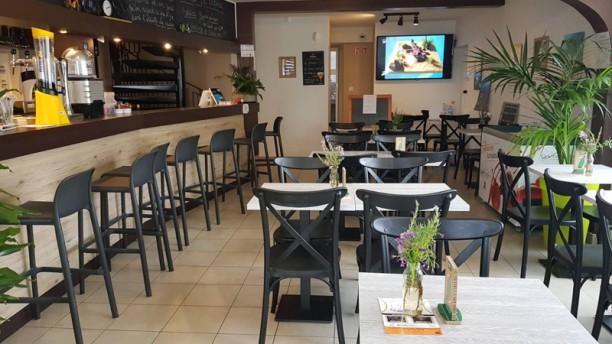 La Bicyclette Salle du restaurant